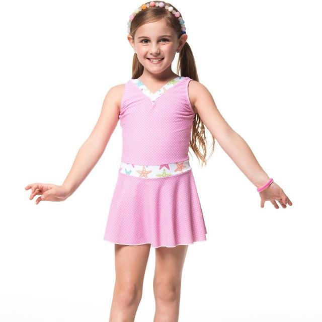 【部落客推薦】MOMO購物網【SARBIS】泡湯SPA戲水女童連身裙泳裝(附泳帽B88607)評價好嗎momo 折價券