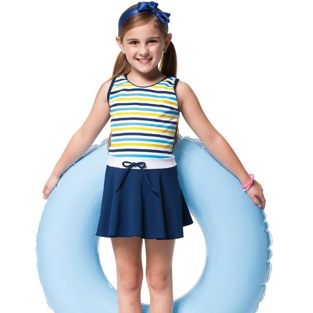 【網購】MOMO購物網【SARBIS】泡湯SPA戲水女童連身裙泳裝(附泳帽B88608)效果如何momo購物台 東森購物台