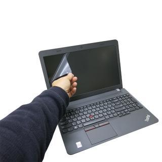 【EZstick】Lenovo ThinkPad E560 專用 靜電式筆電液晶螢幕貼(可選鏡面或霧面)