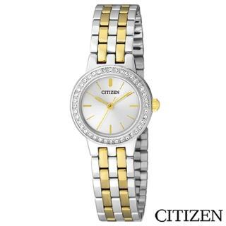 【CITIZEN星辰】典藏金色元素女仕腕錶(EJ6104-51P)