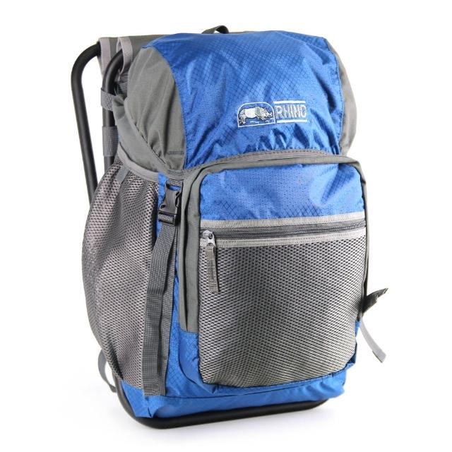 【部落客推薦】MOMO購物網【犀牛RHINO】22公升椅子背包(灰藍)哪裡買momo會員