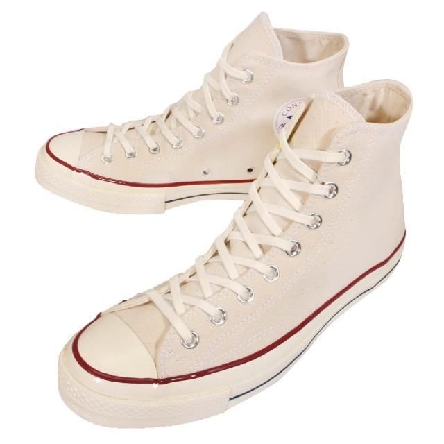 【好物推薦】MOMO購物網【CONVERSE】休閒鞋 帆布鞋 Chuck All Star 70 高筒基本款 卡其白 男鞋女鞋(144755C)有效嗎富邦momo購物台電話