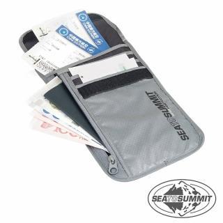 【SEATOSUMMIT】RFID旅行安全頸掛式證件袋 5隔層(灰色)