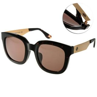 【Go-Getter 太陽眼鏡】流行時尚方框款(棕-琥珀棕金#GS4010 C05)