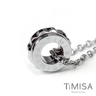 【TiMISA】幸福御守-M 純鈦項鍊(H)