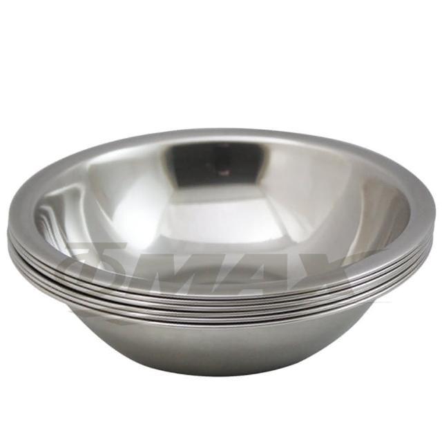 【omax】高級不銹鋼湯碗10件組(大3入中3入小3入+保溫保冷袋1入隨機出貨-12momo富邦購物網H)