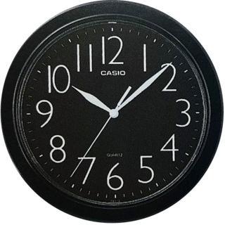 【CASIO】清晰數字典藏圓形掛鐘(IQ-01S-1)