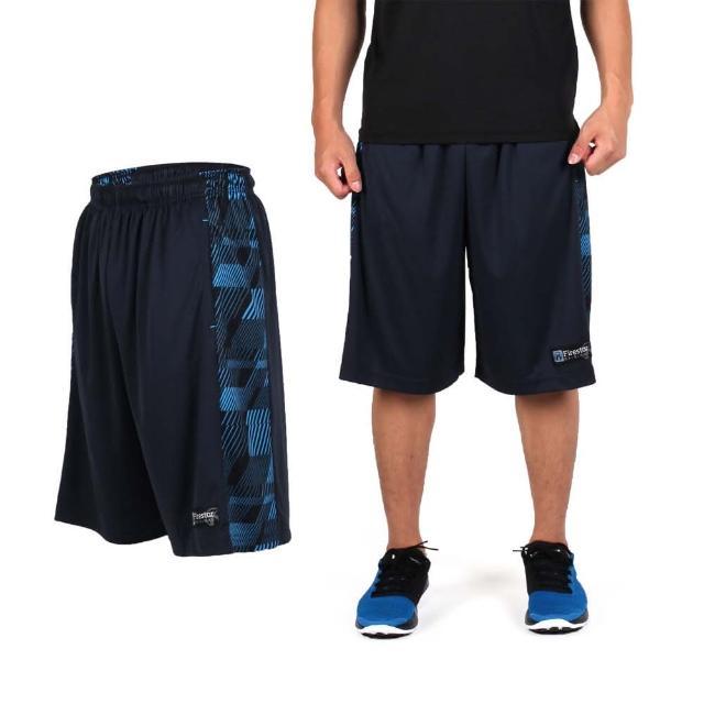 【私心大推】MOMO購物網【FIRESTAR】男吸排籃球褲-運動短褲 休閒短褲(丈青淺藍)好用嗎momo富邦樂遊網