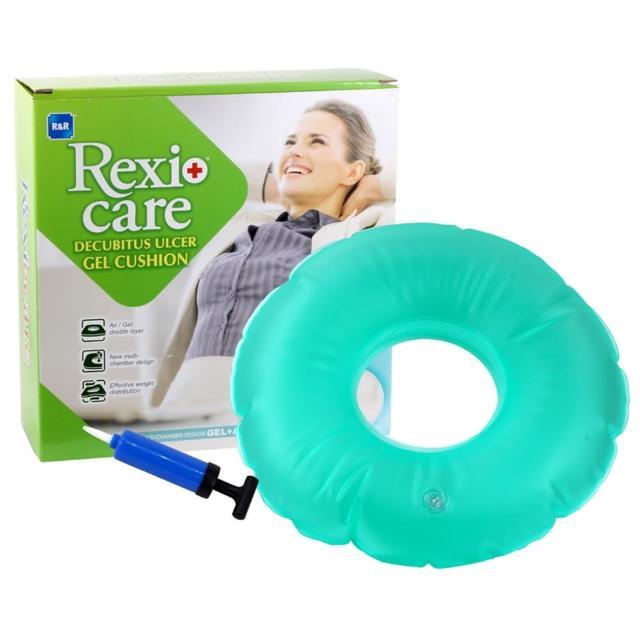 【REXICARE R&R】R&R充氣減壓凝膠富邦購物型錄座墊-圓形SU8413(衛署醫器製壹字第002134號)