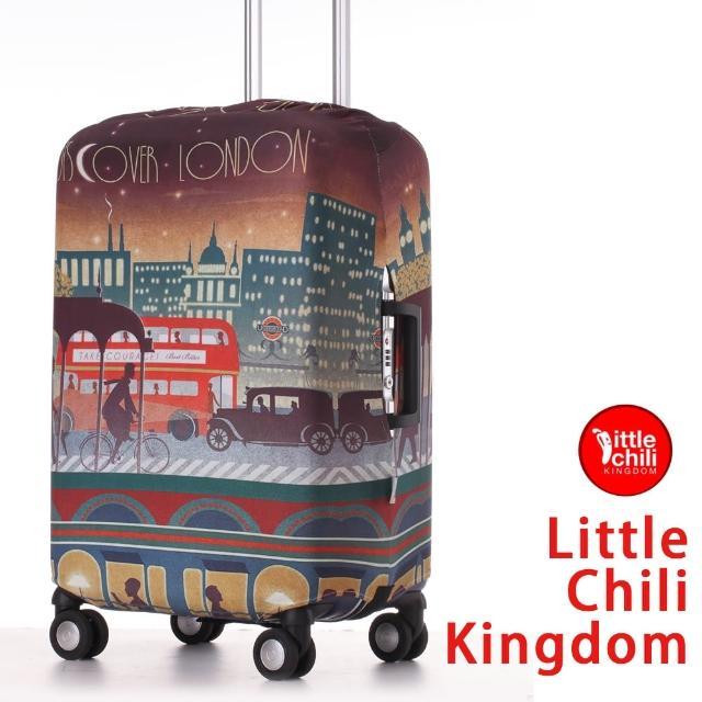 【真心勸敗】MOMO購物網【LittleChili】行李箱套套532(倫敦彩 L)去哪買富邦momo台客服電話