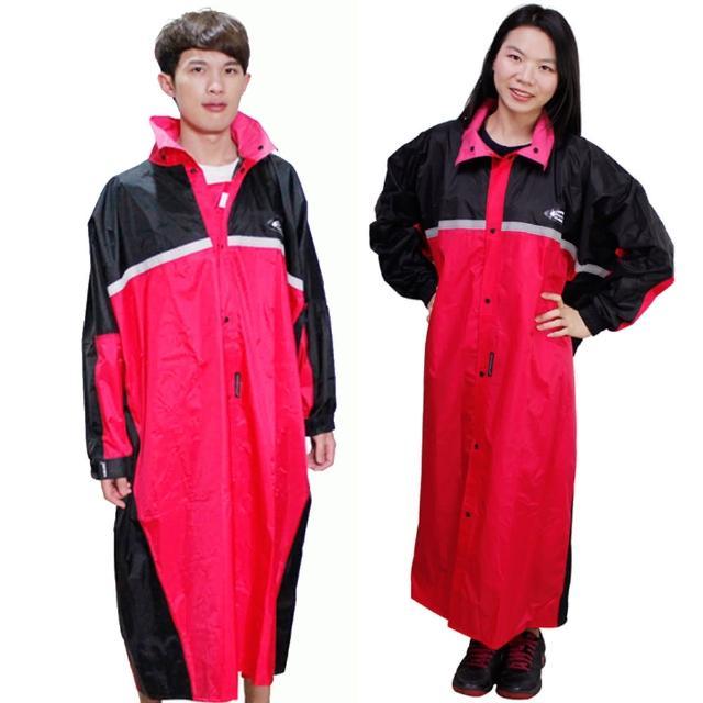 【真心勸敗】MOMO購物網【天龍牌】競速型尼龍雨衣-黑/紅評價怎樣momo 購物台 momo 購物台