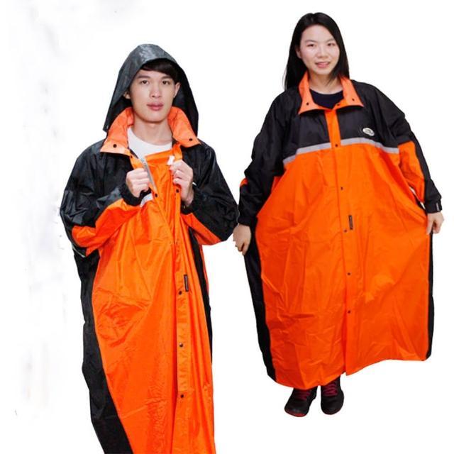 【私心大推】MOMO購物網【天龍牌】競速型尼龍雨衣-黑/橘開箱momo購物