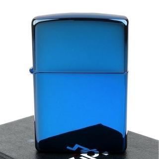 【ZIPPO】美系-超質感Sapphire藍寶色鏡面打火機
