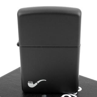 【ZIPPO】美系-Pipe Lighter-煙斗用打火機(黑色烤漆款)