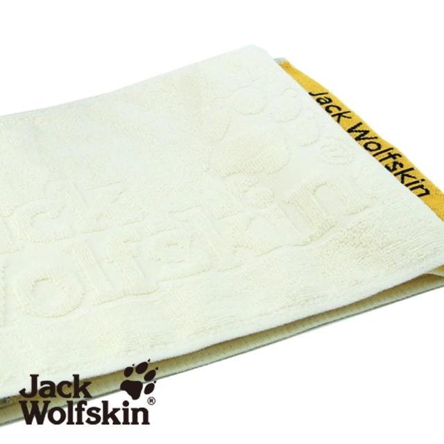 【部落客推薦】MOMO購物網【采棉居】Jack Wolfskin飛狼緹花運動巾-米黃(22x110cm)評價如何momo購物app