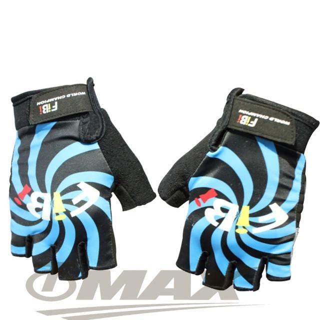 【勸敗】MOMO購物網【omax】風火輪萊卡半指手套-藍色(12H)開箱momo購物台