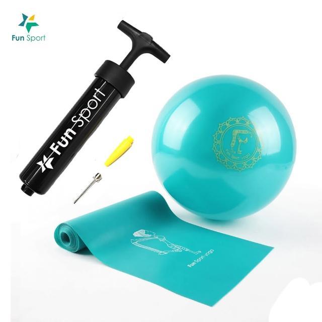 【好物推薦】MOMO購物網【Fun Sport】小跟班瑜珈球-1顆-20cm-彼拉提斯彈力帶-加長180cm-1條(瑜珈)好嗎momo折價券使用