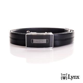 【Lynx】男用自動扣紳士皮帶 LY11-8117-99(生日禮訂婚禮)
