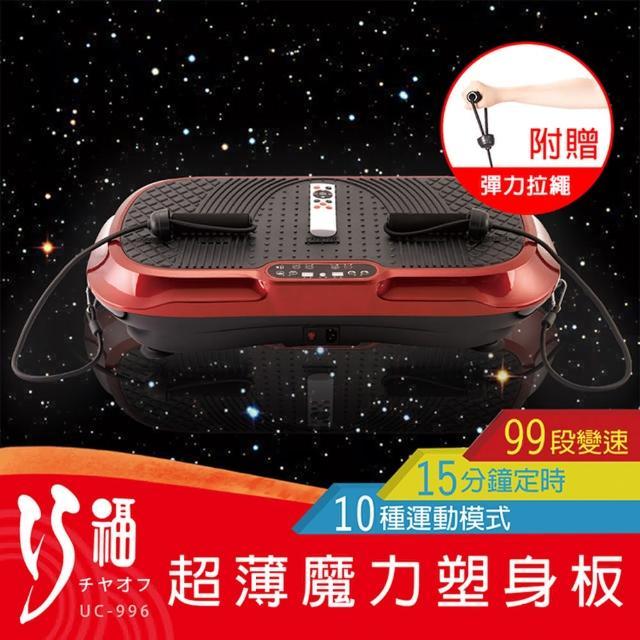【好物推薦】MOMO購物網【巧福】魔力塑身板 UC-996(摩塑板/舞動機/動動機/甩脂機)效果如何momo購物