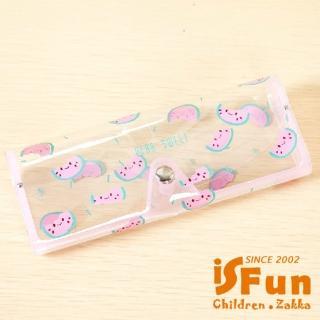 【BeLiz】水果嘉年華*透明彈性眼鏡盒/三款可選+隨機款