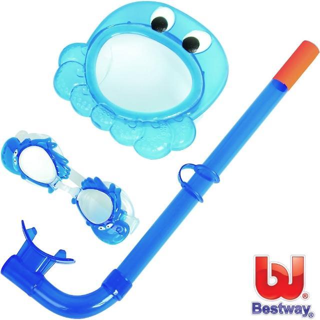【好物分享】MOMO購物網【BESTWAY】幼兒戲水超值組合(藍色章魚)推薦富邦momo