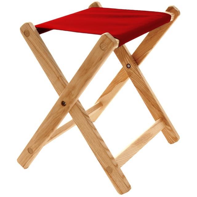 【Blue Ridmomo富邦購物網客服電話ge Chair Works】多功能折疊凳(紅)