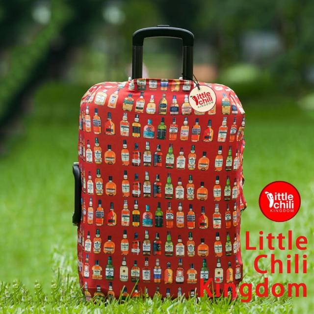 【網購】MOMO購物網【LittleChili】行李箱套套514(暢快人生S)效果momo購買網