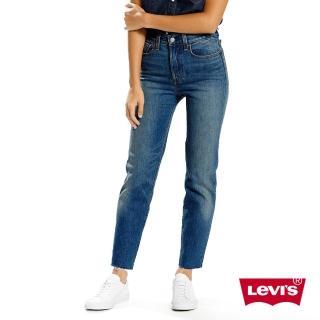 【Levis】WEDGIE女款修身窄管丹寧牛仔褲-水洗藍