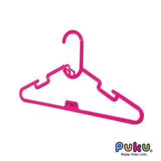 【PUKU藍色企鵝】彩虹糖衣架-6入(粉色)