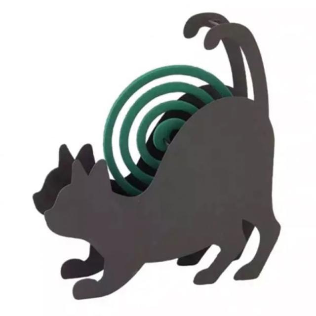 【勸敗】MOMO購物網【日本 SPICE】日系 CAT STRETCH 貓伸展 造型蚊香盒(/ 露營 登山 防蚊)價錢momo網購