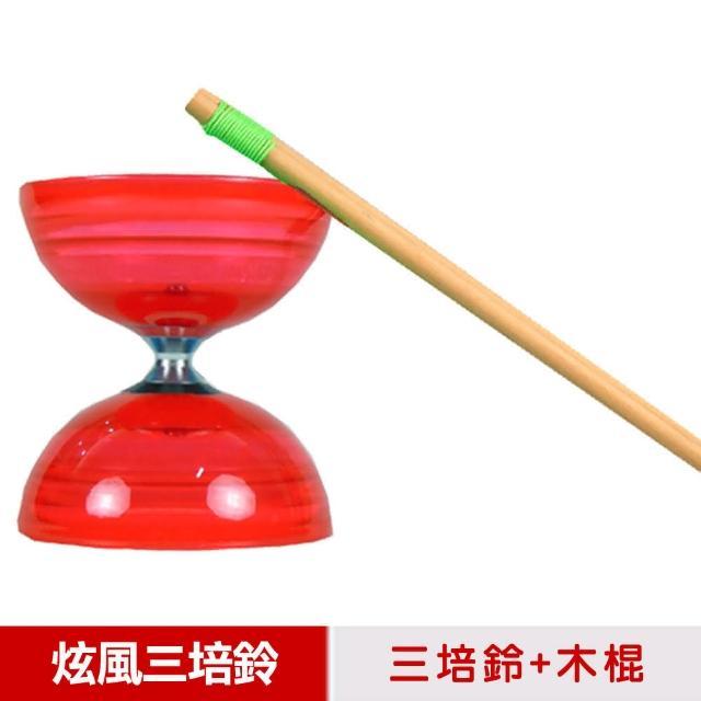 【好物分享】MOMO購物網【三鈴SUNDIA】台灣製造-炫風長軸三培鈴扯鈴-附木棍、扯鈴專用繩(紅色)效果如何富邦媒體科技