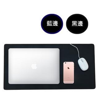 【Enjoy】多功能大尺寸精密鎖邊滑鼠墊 -1入(60cm*30cm)