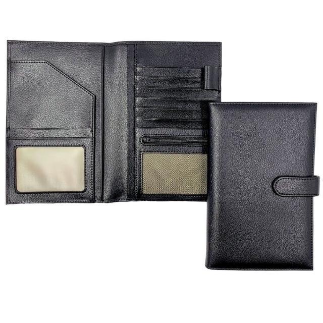 【私心大推】MOMO購物網【Bosvision】防RFID/NFC側錄真皮護照包評價富邦momo購物台