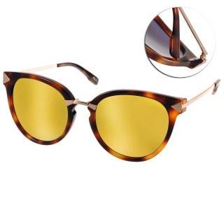 【JILL STUART太陽眼鏡】水銀鏡面微貓眼款(琥珀#JB20013 C02)