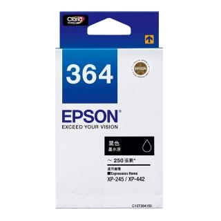 【EPSON】T364150標準型黑色墨水匣(T364150)