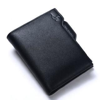 【PUSH!】男士短夾皮夾頂級牛皮抽拉式拉鍊倉短皮夾零錢包精品生日禮物(3035B)