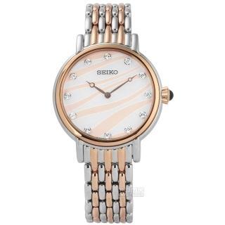 【精工錶 SEIKO】小資完美鵝蛋型時尚腕錶(1N01-0SE0P SXGP57P1)