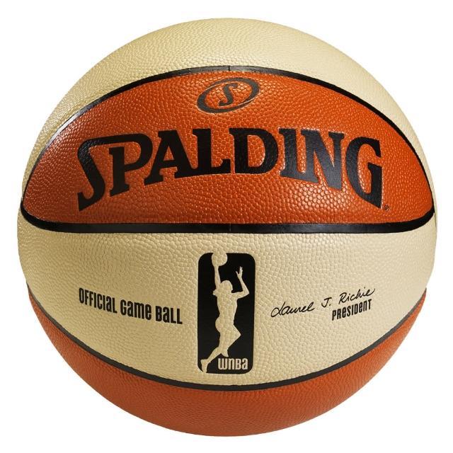 【勸敗】MOMO購物網【SPALDING】斯伯丁 WNBA 6片式比賽用球 籃球 6號(美國WNBA女子職業籃賽指定用球)評價富邦momo購物台網站