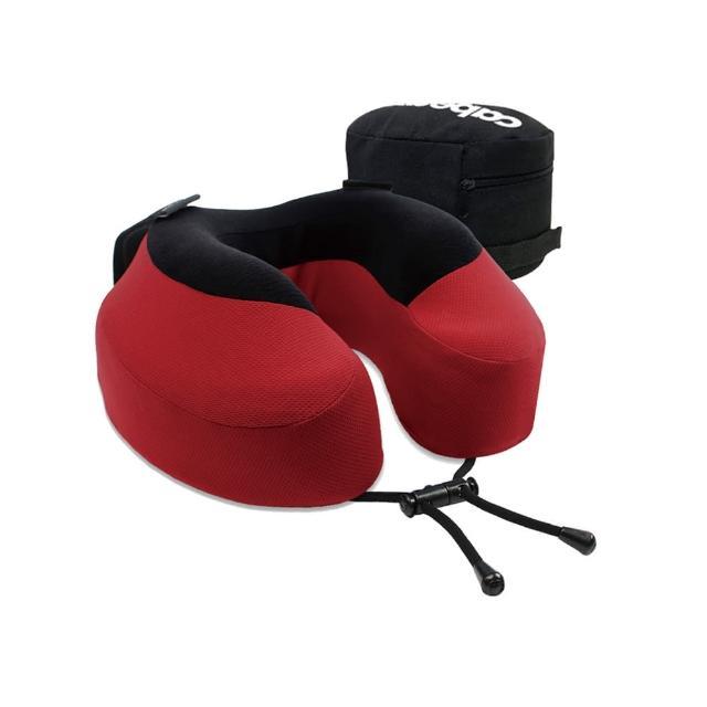【私心大推】MOMO購物網【CABEAU】旅行用記憶頸枕(深紅色)效果如何富邦m0m0