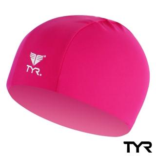 【美國TYR】Lycra Swim Cap Pink(台灣總代理)