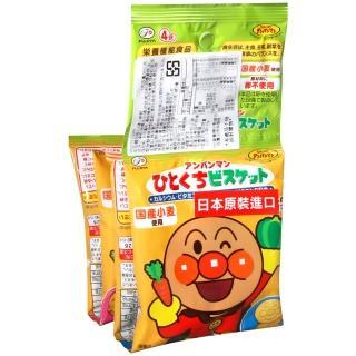 【不二家】麵包超人4連小餅乾(80g)
