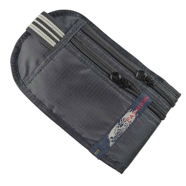 【私心大推】MOMO購物網【PUSH!嚴選】5艙室 防搶包 防盜腰包 護照包 隱形貼身腰包(黑色FASHION)評價如何富邦購物臺