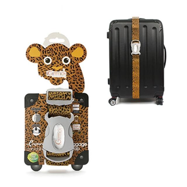 【網購】MOMO購物網【iGimmick】動物系列行李綁帶-獵豹好嗎富邦momo台客服電話