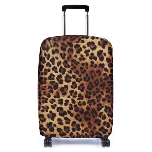 【私心大推】MOMO購物網【Bibelib】行李箱套-非洲豹(適用26-31吋行李箱)價格momo購物网
