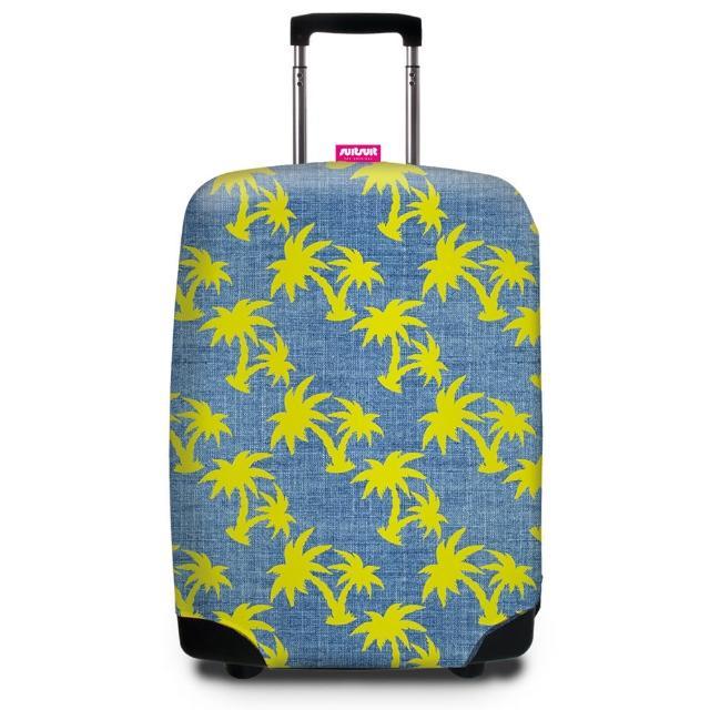 【勸敗】MOMO購物網【Suitsuit】行李箱套-熱帶椰林(適用24-28吋行李箱)價錢富邦momo電視購物頻道