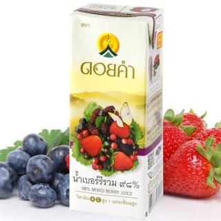 【皇家農場】鮮果汁-綜合莓汁(200mlx4入/組)