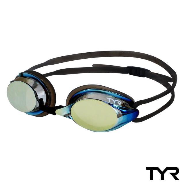 【私心大推】MOMO購物網【美國TYR】成人用競速電鍍泳鏡 Velocity Metallised(台灣總代理)價錢momo 優惠