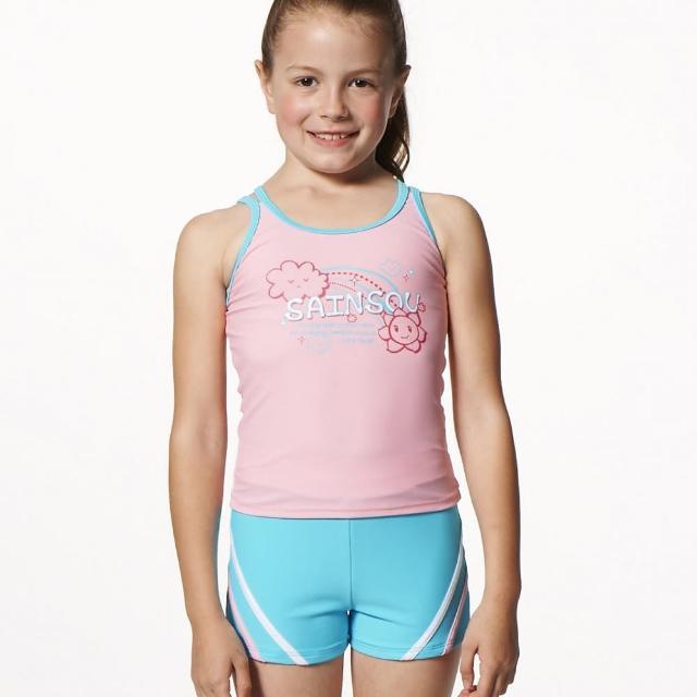 【好物推薦】MOMO購物網【SAIN SOU】MIT女童兩件式泳裝附泳帽(A82505)效果如何momo2台