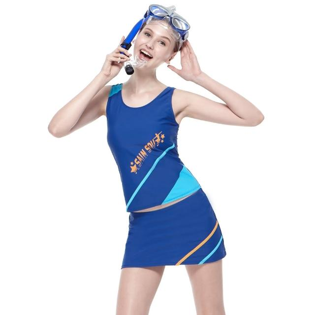 【私心大推】MOMO購物網【SAIN SOU】戲水/沙灘/踏浪大女三件式泳裝(附泳帽A93622)效果如何momo 折價
