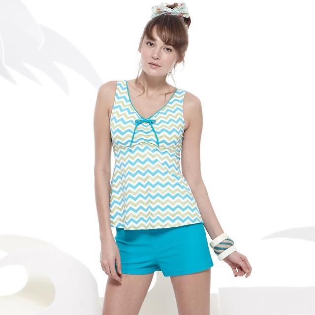 【勸敗】MOMO購物網【SARBIS】戲水/沙灘/踏浪大女二件式泳裝(附泳帽B92643)價格富邦momo旅遊網